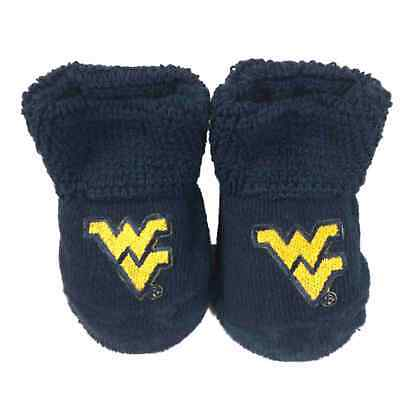 West Virginia Mountaineers Two Feet Ahead Kleinkinder Baby Marineblau Socken