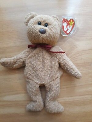 5a44cca2e33 Ty ORIGINAL Beanie Baby CURLY BEAR - MINT Condition RARE Retired Tag Errors