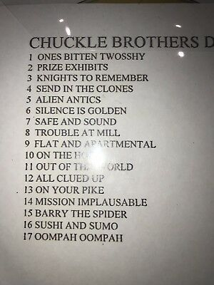 Chuckle Brothers Chucklevision Episodes Dvd