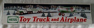 Hess Toy Truck and Airplane (2002 Hess Toy Truck) NEW in BOX