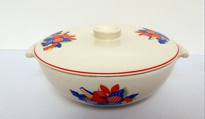 Universal Cambridge Calico Fruit Casserole with Lid