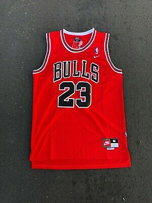 NEW Throwback Basketball Jersey MICHAEL JORDAN #23 Chicago Bulls Men