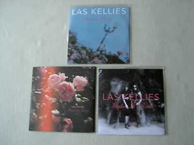 LAS KELLIES job lot of 3 promo CDs Friends & Lovers Make It Real Summer Breeze