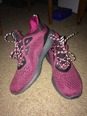 a366d37212879 Adidas Alphabounce EM Men s Running Shoes Mystery Ruby  Core Black  Grey One