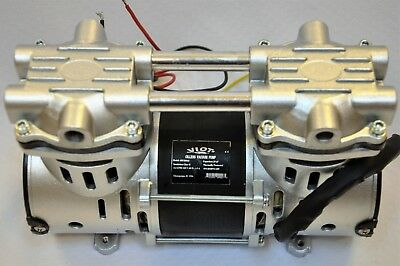 Dry Run Twin Piston Oil-less Vacuum Pump/O2 Concentrator Compressor Replacement