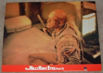 The Hills Have Eyes Part 2  lobby cards - International set of 8