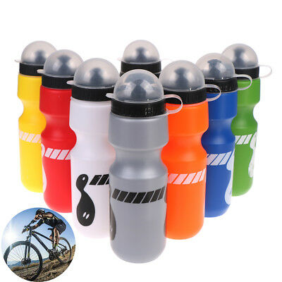 750ml outdoor hiking bike bicycle cycling drink jug water bottle w/ dust cover``