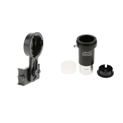 "For Celestron 1.25"" Telescope Eyepiece 5X Barlow Lens & Phone Adapter Mount"