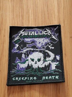 Metallica -  Creeping Death (New) Sew On Patch Official Band Merch