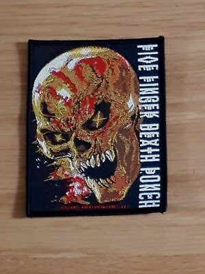 Five Finger Death Punch - And Justice For  None (New)Sew On Patch Official Merch