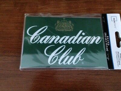 Canadian Club Print In 4X6 Acrylic Magnetic Frame