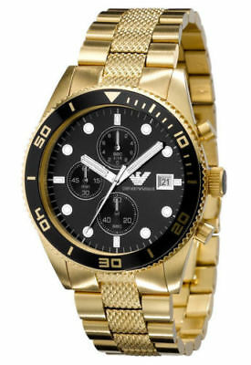 BRAND NEW Emporio Armani Sport Chronograph Men's Watch AR5857 Stainless GIFT