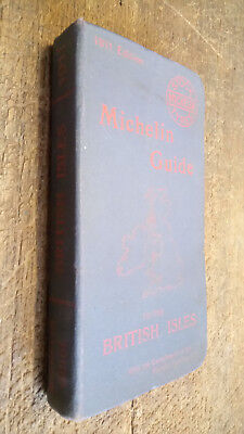 Antique 1920 Fifth Year Michelin Guide To The British Isles Book Map Advertising Eur 108 66 Picclick Fr