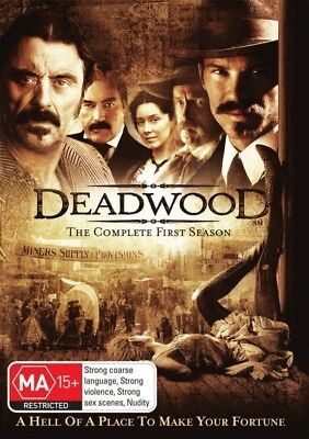 DEADWOOD: SEASON 1 = TV Series = NEW DVD R4