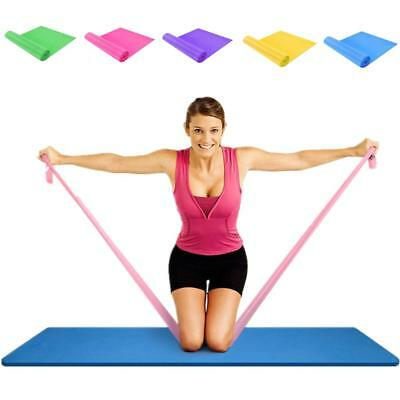 Long Resistance Bands. Flat Latex Free Home Gym Fitness Equipment For AL