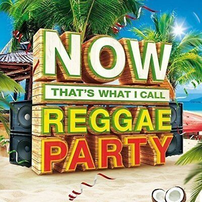 NOW THAT'S WHAT I CALL REGGAE PARTY 3-CD ALBUM SET (New Release 2016)