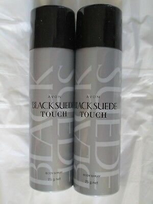 Avon Black Suede Touch Body Spray (set of 2)