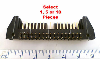 SAE RP6234D2R 34 Way DIL Right Angled PCB Boxed Header MBF002F