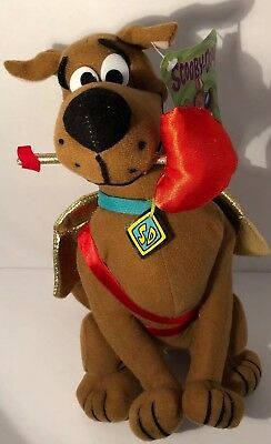 """Hanna Barbera Scooby Doo Valentine's Day Plush 12"""" Toy Factory New With Tag"""