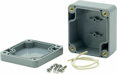 Electrical Enclosure Indoor Outdoor ABS Plastic High Impact 64 x 58 x 35 mm