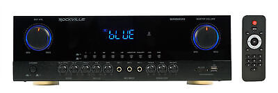 Rockville SingMix 3 3000 Watt Professional DJ Amplifier w/ Bluetooth/Echo