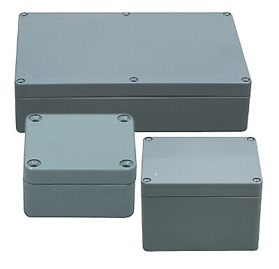 Electrical Enclosure Indoor Outdoor ABS Plastic High Impact 82 x 80 x 55 mm