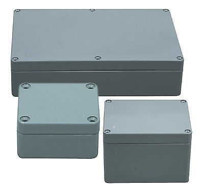 Electrical Enclosure Indoor Outdoor ABS Plastic High Impact 200 x 120 x 75 mm