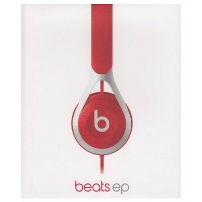 Beats By Dr Dre EP Wired Headband On Ear Headphones - Red