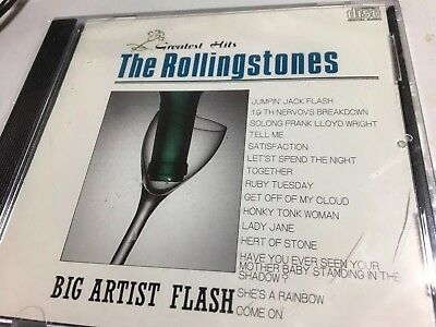 THE ROLLING STONES Big Artist Flash Greatest Hits SEALED CD(RARE Japan Import)
