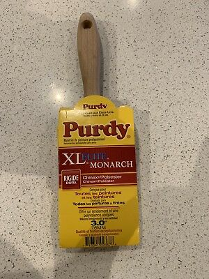 "Purdy XL Elite Monarch set  1 x 3"" professional decorating paint brush"