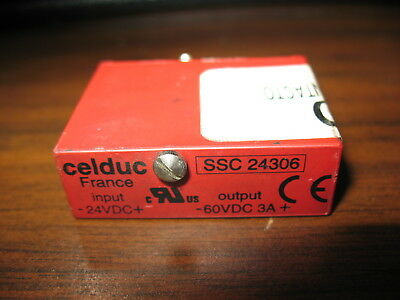Celduc SSC 24306 24 VDC Solid State Relay
