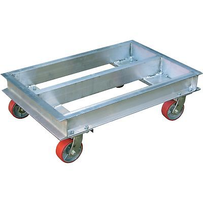 Vestil Dolly-Aluminum Channel 2000-lb Cap 42inL x 40inW #ACP-4042-20