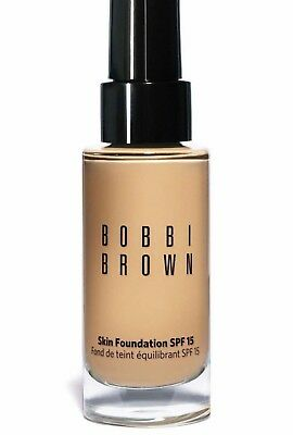 Bobbi Brown Skin Foundation SPF 15 Full Size 30ml VARIOUS SHADES Choose Yours