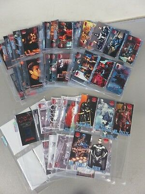 Batman & Robin Movie Complete Card Set (1997) + Storyboard Set + Celluoid + More