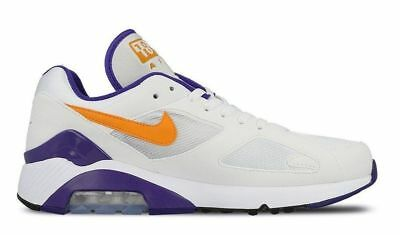 finest selection 37393 96a14 Nike AIR MAX 180 Gr. 45 US 11 White Bright Keramic 615287 101 Sneaker Sold