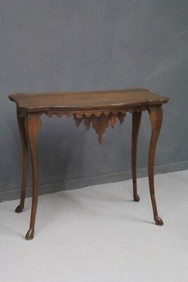 Console Table Wooden Walnut, Period Beginning '700 / Console Table Antique