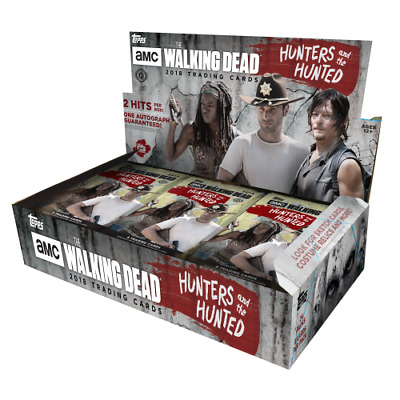 The Walking Dead Hunters And The Hunted, Factory Sealed Hobby Box Trading Cards