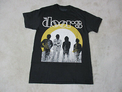 NEW The Doors Concert Shirt Adult Extra Large Black Jim Morrison Band Rock Mens