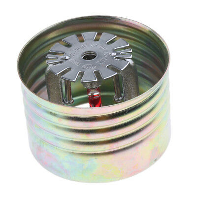 1Pc Metal Fire Sprinkler Head with Cover Fire Extinguishing System Protect