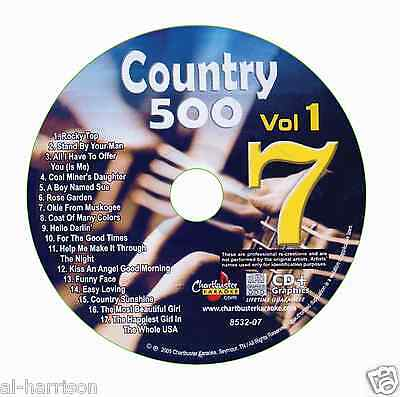 Karaoke Chartbuster Cdg Country 500 Vol.1 Disc Cb8532  #7