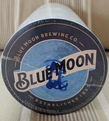 Blue Moon Bar Coasters Sealed Package