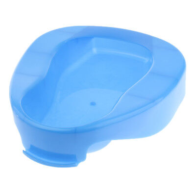 Plastic Portable Easy To Use Comfortable Bedpan Bedpans for Women Men Blue