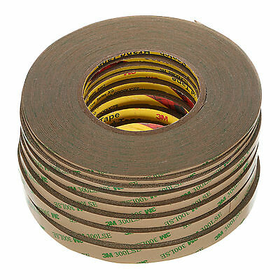 3M 300LSE Ultra Thin Double-Sided Adhesive Tape Super Sticky Clear 2mm-12mm