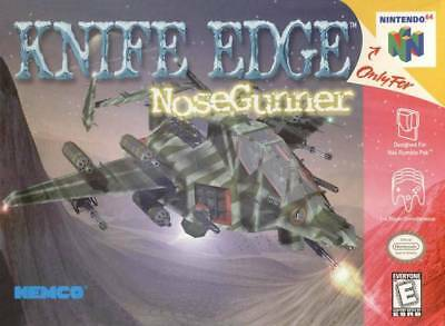 Knife Edge Nose Gunner - Nintendo N64 Game