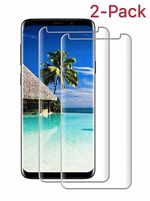 For Samsung Galaxy S9 /Plus / S8 Plus Note 8 9 Screen Protector Tempered Glass