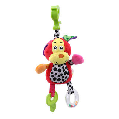 Baby Animal Hand-bells Baby Car Pushchairs Crib Stroller Hanging Toys HZ