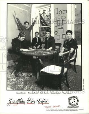 1997 Press Photo Members of the music group Jonathan Fire & Eater - hcp05096