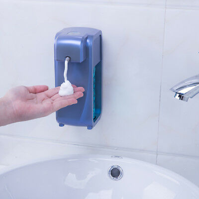 Wall Mounted Countertop Automatic Soap Dispenser Touch-free Sensor Blue