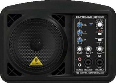 Behringer EUROLIVE B205D Active PA/Monitor Speaker Black
