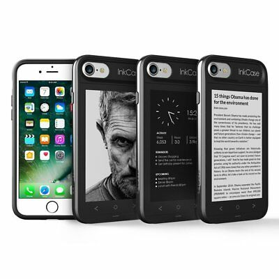 """Oaxis Ink Case i7 4.3"""" eReader Case with 2nd Screen for iPhone 7 (inkcasei7)"""